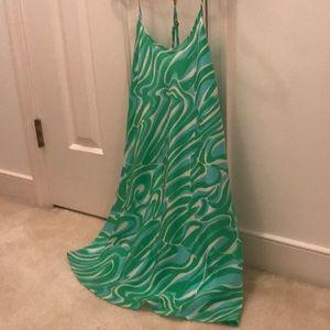 Lilly Pulitzer Xs EUC Silk Dress
